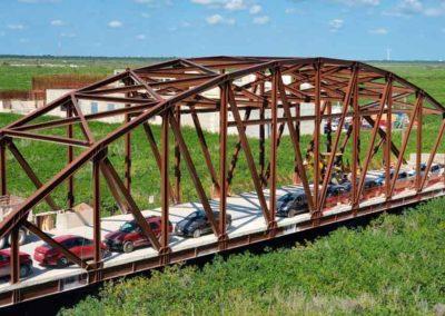 Edificación Puente de hierro